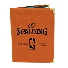 Spalding NBA Pebble Composite Leather Pad Holder by Spalding