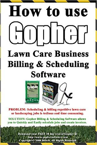 Gopher landscape software