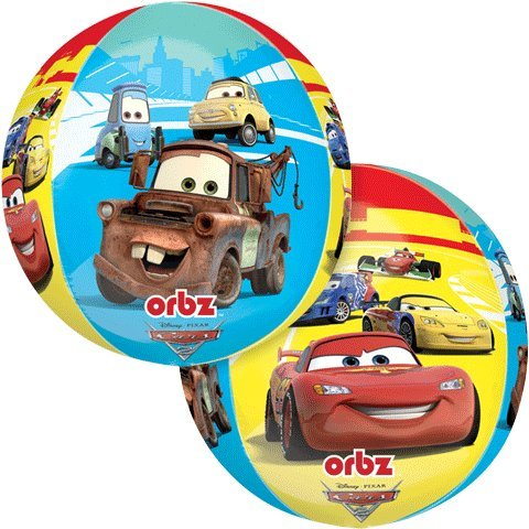 "Disney Cars 15"" Orbz Balloon - 1"