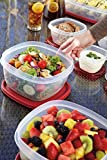 Rubbermaid Easy Find Lids Square 1.25-Cup Food Storage Container (Set of 2)