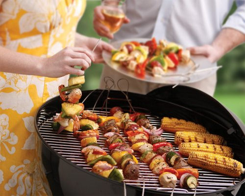 Stainless Steel Flexible Grilling Skewers
