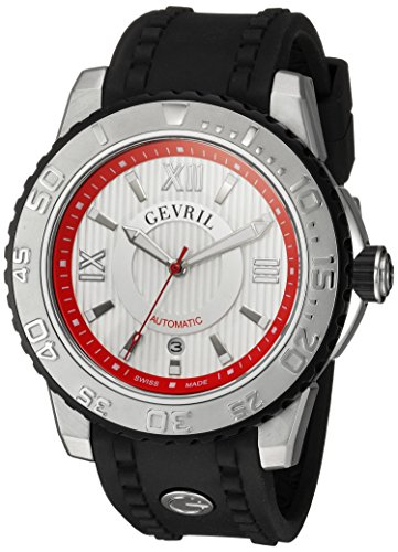 Gevril-Mens-3113-Seacloud-Analog-Display-Black-Watch