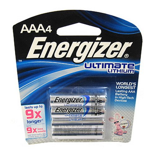 Energizer L92BP-4 4 Pk AAA Ultimate Lithium Battery