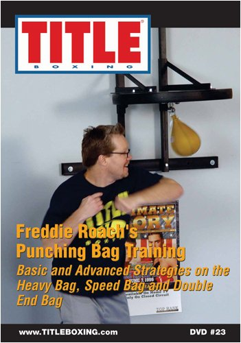 TITLE DVD - Freddie Roach's Punching Bag Training