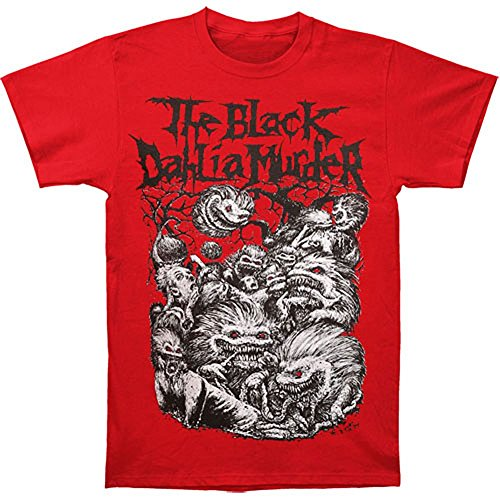 Michaner Walosde Black Dahlia Murder Men's Critters T-shirt Red Large