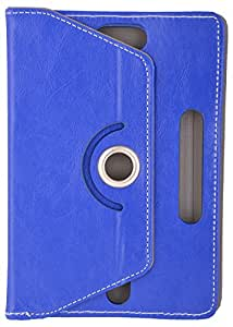 OMB Universal Flip Case for 8.0 Inch Tab (Dark Blue)
