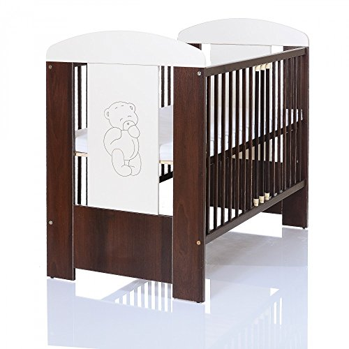 b r braun babyzimmer m bel komplettset mit kinderbett. Black Bedroom Furniture Sets. Home Design Ideas