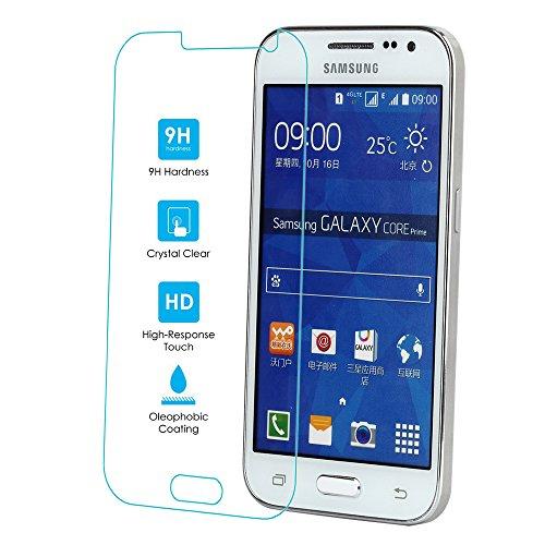 Kit Me Out IT Proteggi schermo in vetro temperato 9H per Samsung Galaxy Core Prime G360 - Trasparente