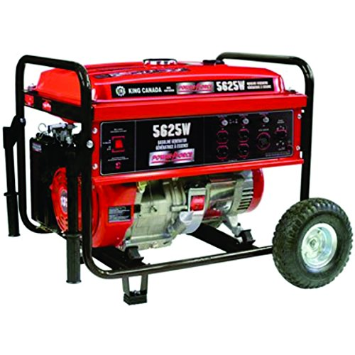 King Canada Gasoline Generator 5625W with Wheel Kit King Canada