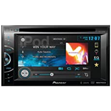 Pioneer AVH-X2500BT 2-DIN Multimedia DVD Receiver with 6.1