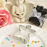 Metal Angel Shaped Design Cookie Cutters in a Box
