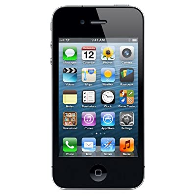 Apple iPhone 4 Smartphone (8,9 cm (3,5 Zoll) Display, 16GB Speicher, iOS) schwarz