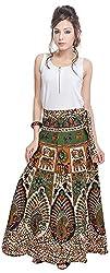 Soundarya Women's Cotton Wrap Skirt (6054, Long)
