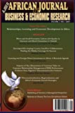 img - for African Journal of Business and Economic Research, Vol 2 No 1 2007 book / textbook / text book