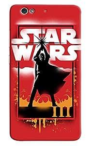 Omnam Star Wars Effect Printed Designer Back Cover Case For Gionee S6