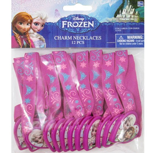 Frozen Charm Necklaces (12ct)