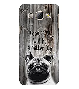 PrintVisa Quotes & Messages Attitude 3D Hard Polycarbonate Designer Back Case Cover for Samsung Galaxy A8