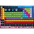 Laminated The Chemical Elements Periodic Table Poster 91.5x61cm
