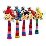 Computadora de mano T�tere con cabeza de tambor Juguetes educativos de campanillas para los ni�os del beb� Cantidad 1 Color al azar