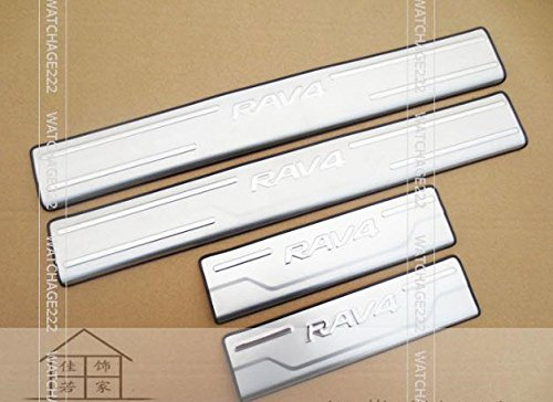 TOYOTA RAV4 DOOR SILL PANEL SCUFF PLATE (2015 Toyota Rav4 Key Cover compare prices)