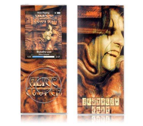MusicSkins Alice Cooper Brutality Live, Skin per Apple iPod nano 4G
