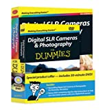 Digital SLR Cameras and Photography For Dummies Book + DVD Bundle