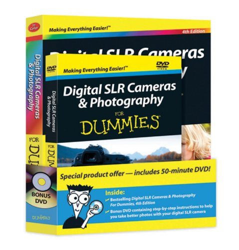 Digital SLR Cameras and Photography For Dummies: Book + DVD Bundle (For Dummies (Lifestyles Paperback))