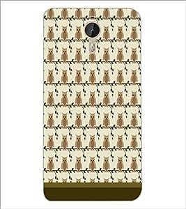 PrintDhaba Owl Pattern D-1649 Back Case Cover for LETV (LE ECO) LE 1 PRO (Multi-Coloured)