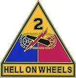 2nd Armored Division CSIB - Combat Service Identification Badge