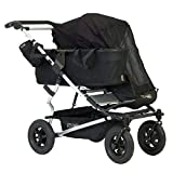 Mountain Buggy Single Sun Cover For Duet Double Stroller, Black