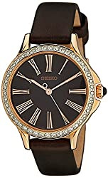 Seiko Analog Brown Dial Womens Watch - SRZ446P1
