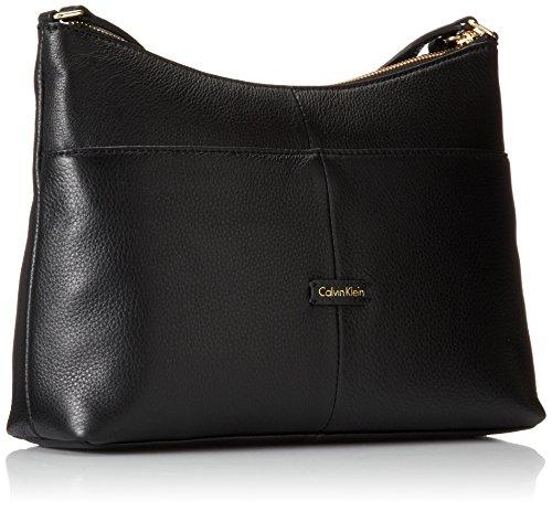 Calvin Klein Pebble Padlock 女式真皮挎包,2色可选图片