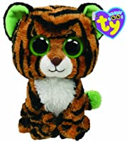 Ty Beanie Boos Stripes Tiger by Ty