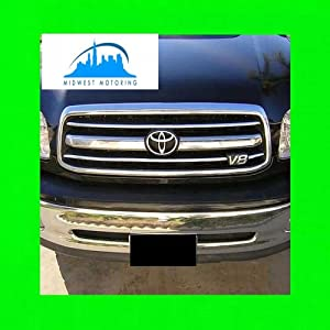 2000 2002 toyota tundra chrome trim for grill. Black Bedroom Furniture Sets. Home Design Ideas