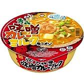 マルちゃん 日本うまいもん 青森味噌カレーミルクラーメン 131g×12個