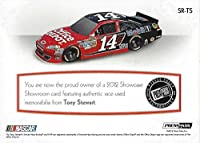 AUTOGRAPHED Tony Stewart 2012 Press Pass Showcase SHOWROOM (Race-Used Sheetmetal) Memorabilia Relic Insert NASCAR Collectible Trading Card with COA (#90 of only 99 produced!)