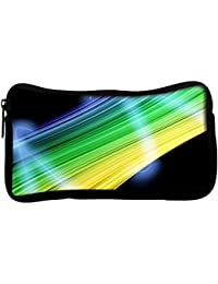 Snoogg Abstract Multicolor Design Poly Canvas Student Pen Pencil Case Coin Purse Utility Pouch Cosmetic Makeup... - B01H784ATE