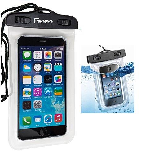最大5.5インチ画面対応!リストストラップ・首掛け付き!2015年最新版!防水ケース for iPhone6/iPhone5s/  GALAXY S/ ARROWS / AQUOS Phone / Xperia Z/Z1/ Z2/Z3 シースルー 防水 ケース