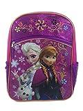 Brand New Disney Frozen Elsa, Anna Elsa and Olaf 16 Backpack School Kids