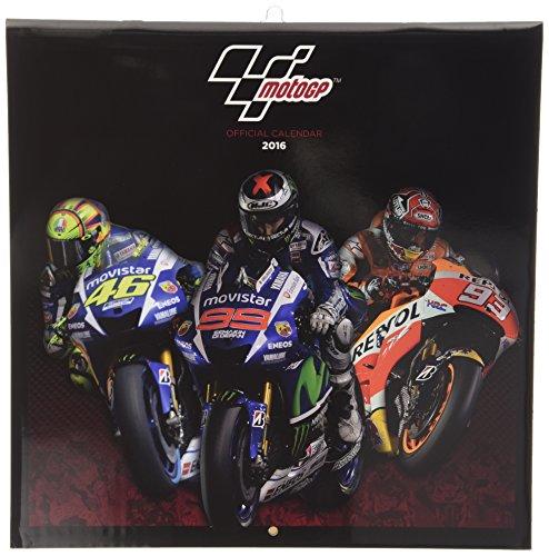 Moto GP Official 2016 Calendar (Square)