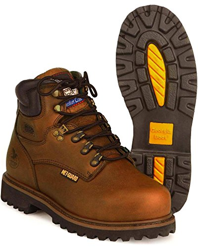 Georgia Boot Men'S Heritage International Work Boot,Brown,10.5 M