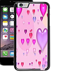 ColourCraft Beautiful Hearts Design Back Case Cover for APPLE IPHONE 6