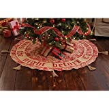 Mud Pie Holly Berry Tree Skirt