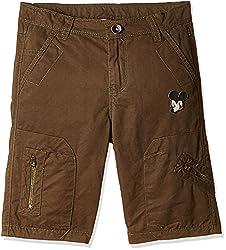 Disney Boys' Trousers (TC 2678_Olive_7 - 8 years)