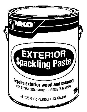 Buy SYNKOLOID 1201 EXTERIOR SPACKLING PASTE GAL.(PACK OF 4) (SYNKO Painting Supplies,Home & Garden, Home Improvement, Categories, Painting Tools & Supplies, Paint Stain & Solvents, House Paint)