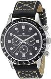 TOM TAILOR Herren-Armbanduhr XL Analog Leder 5407401