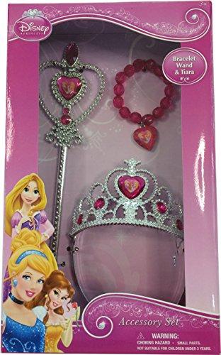 Princess Tiara Wand and Bracelet Set