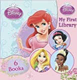 Disney Disney Princess Large My First Library 6 Children Board Books Set (Colourful Tiana,Aurora's Opposites, Count on Ariel, Rapunzel's Favourite Things, Cinderella's Beautiful Clothes,Snow white's Forest Animals)