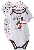 "Disney Baby Baby-Boys Infant Mickey ""Since 1928 Original"" 2 Piece Creeper Pant Set, Grey, 12"