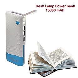 Callmate Power Bank Desk Lamp 15000 mah - Sky Blue